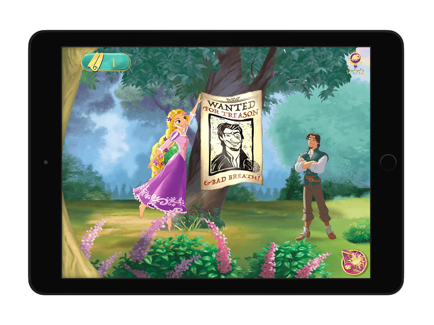 rapunzel game screenshot