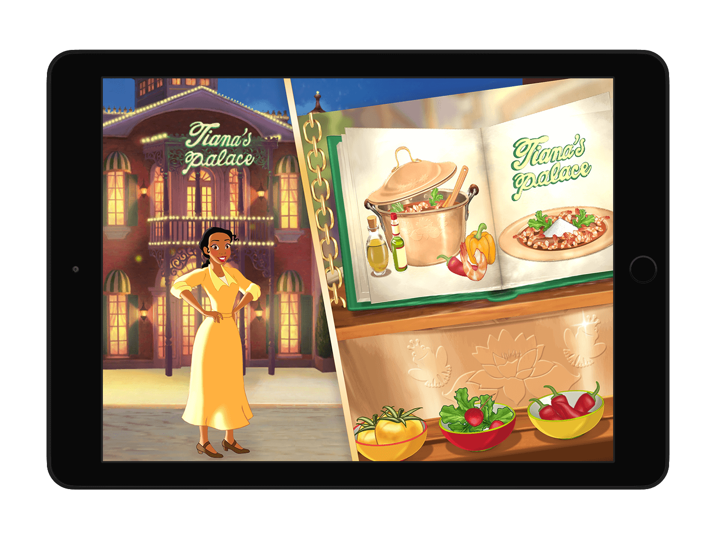 tiana food in context